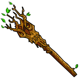 Staff of Living Wood